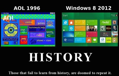 Windows 8 AOL Joke