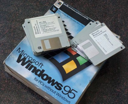Windows 95 Floppy Disk Set