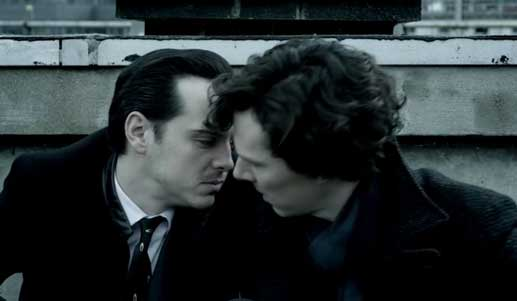 Here is Sherlock's weakness; a very similar male character.