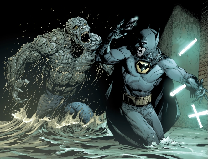 batman-vs-killer-croc-earth-one-1