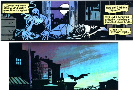 From Batman: Year One - Frank Miller, David Mazzucchelli