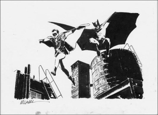 Batman and Robin - Michael Lark